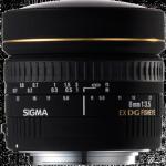 Sigma 8-3.5 EX DG CIRCULAR FISHEYE
