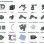 dc 009 4k wifi accesories