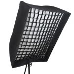 easy up softbox with grid 90x120